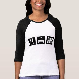 Camiseta coma a edredão do sono