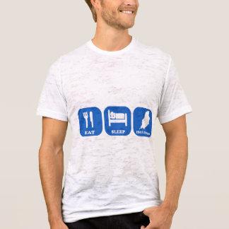 Camiseta Coma a ilha do sono do homem