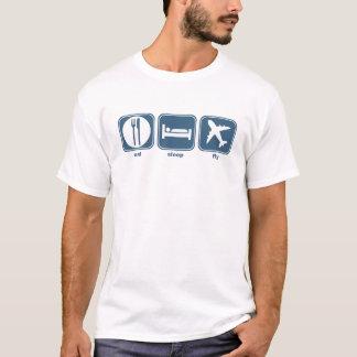 Camiseta coma a mosca do sono