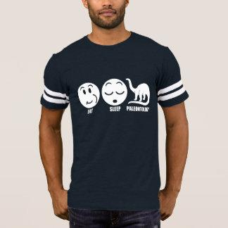 Camiseta Coma a paleontologia do sono