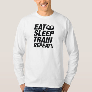 Camiseta Coma a repetição do trem do sono