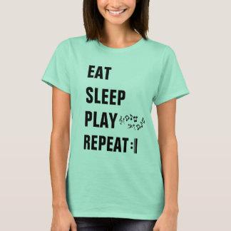 Camiseta Coma a Repetição-Hashtag MusiciansLife do jogo do