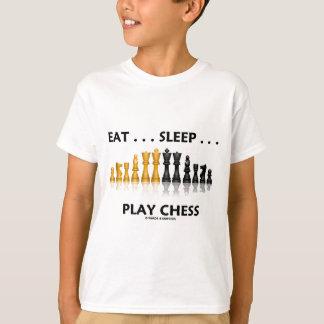 Camiseta Coma… a xadrez do jogo do sono… (a atitude da