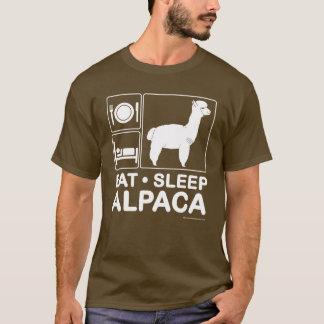 Camiseta Coma, durma, alpaca