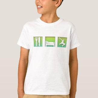 Camiseta Coma, durma, Parkour