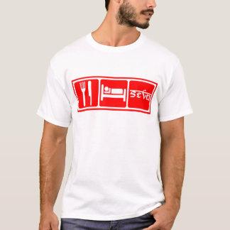 Camiseta Coma, durma, Seva