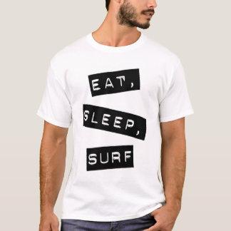 Camiseta Coma, durma, surfe