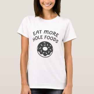 Camiseta Coma mais alimentos do furo