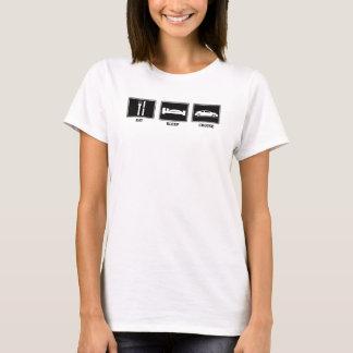 Camiseta Coma/menina Tc do sono/cruzeiro