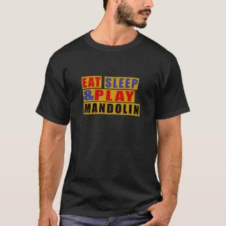 Camiseta Coma o BANDOLIM do sono e do jogo