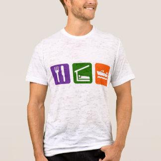 Camiseta Coma o barco do motor do sono