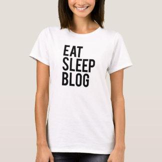 Camiseta Coma o blogue do sono