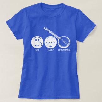 Camiseta Coma o Bluegrass do sono