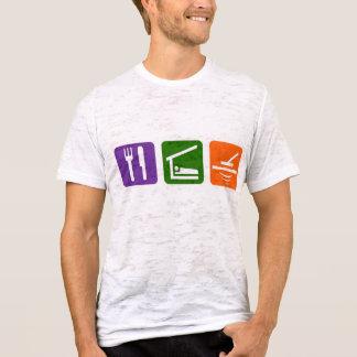 Camiseta Coma o detector de metais do sono