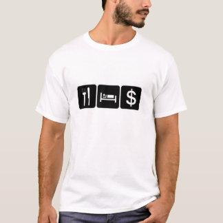 Camiseta Coma o dinheiro do sono