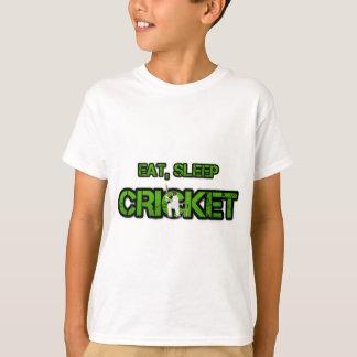 Camiseta Coma o grilo do sono