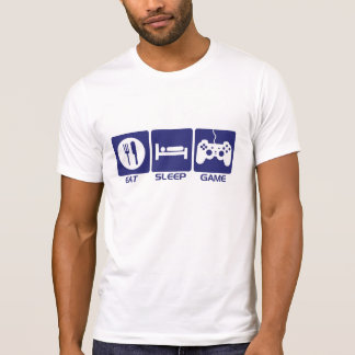 Camiseta Coma o jogo do sono