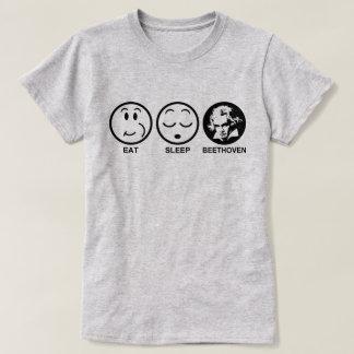 Camiseta Coma o sono Beethoven