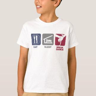 Camiseta Coma o sono Breakdance - menina