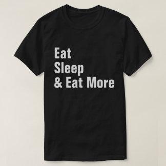 Camiseta Coma o sono & coma mais