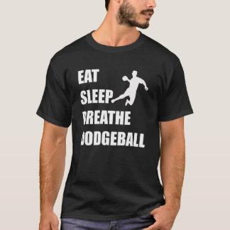 Camiseta Coma o sono respiram Dodgeball