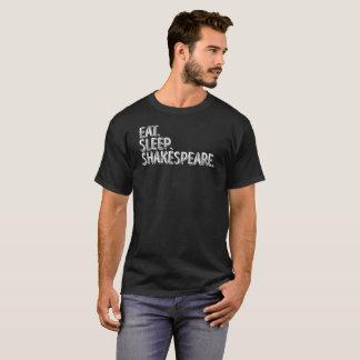 Camiseta Coma o T do presente dos amantes de livros de