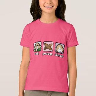 Camiseta Coma o t-shirt das crianças da cobaia do sono do