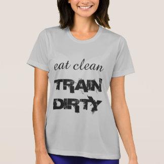 Camiseta Coma o trem limpo sujo