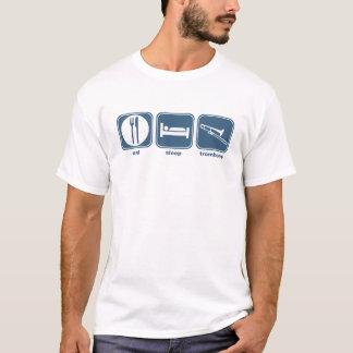 Camiseta coma o trombone do sono