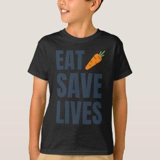Camiseta Coma o Vegan - vidas das economias