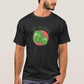 Camiseta Coma seus vegetarianos