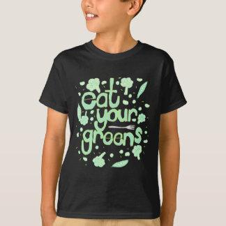 Camiseta coma seus verdes