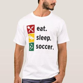 Camiseta Coma. Sono. Futebol