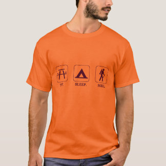 Camiseta Coma. Sono. Hike.