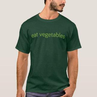 """Camiseta """"coma t-shirt dos vegetais"""""""