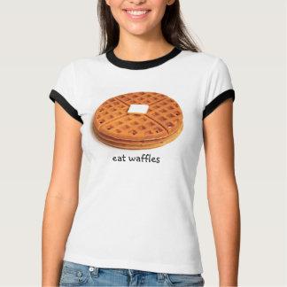 Camiseta Coma Waffles