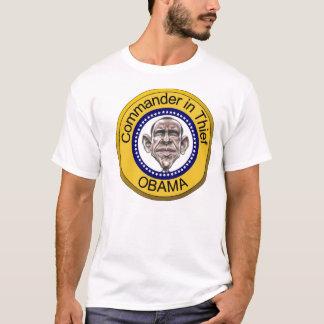 Camiseta Comandante de Obama no ladrão