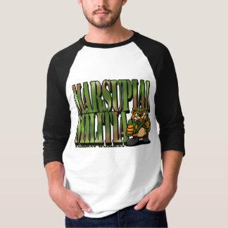 Camiseta Combate Wombat 3: Milícia marsupial