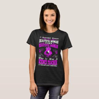 Camiseta Combinação letal do professor de ciências bonito