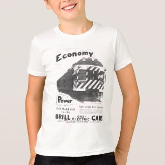 Camiseta Comboio de passageiros de pouco peso 1932 do