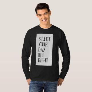 Camiseta Comece seu direito do dia livre