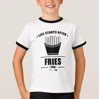 Camiseta Começos da vida após FRITADAS