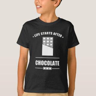 Camiseta Começos da vida em seguida