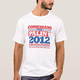 Camiseta Comediantes para Palin 2012