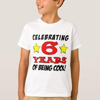 Camiseta Comemorando 6 anos de ser legal