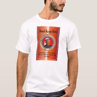 Camiseta Comemorando Obama