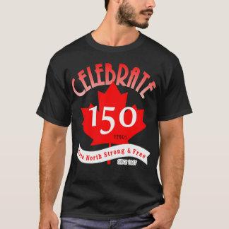 Camiseta Comemore Canadá 150 anos
