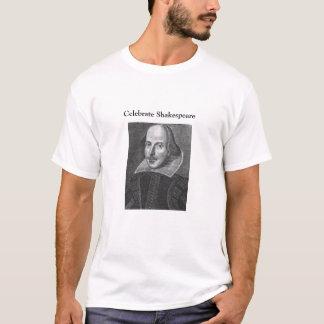Camiseta comemore shakespeare