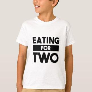 Camiseta Comer para dois