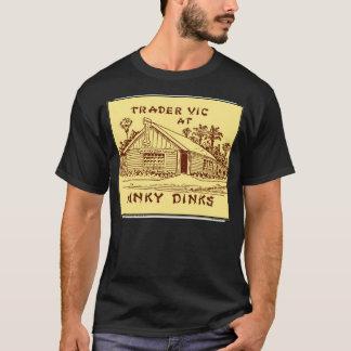 Camiseta Comerciante Vic em Hinky Dinks, Oakland, CA, cerca